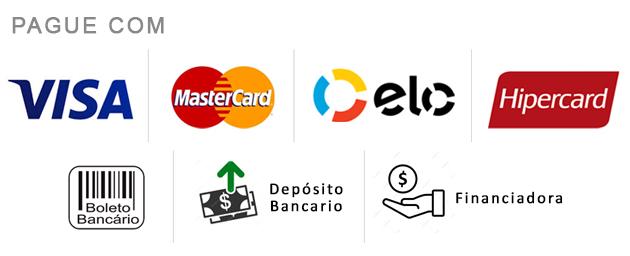 formas de pagamento